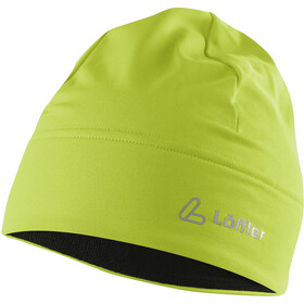 Löffler Mono Thermo-Velours-Light Bonnet, light green
